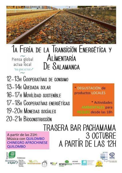 Feria transición energética de Ecologistas