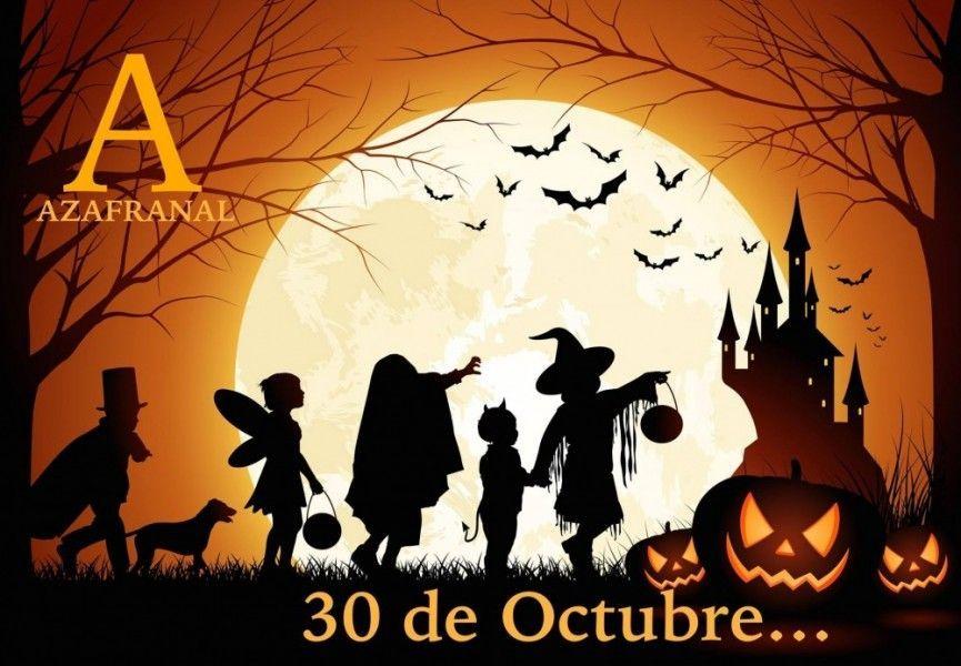 Halloween en la calle Azafranal 2015