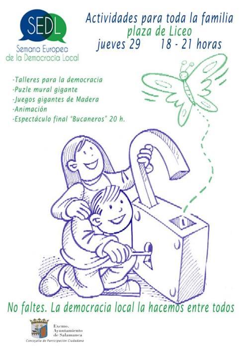 Semana Europea de la Democracia Local en Salamanca
