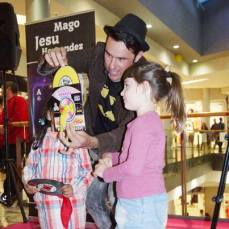magia en la shopping night del tormes