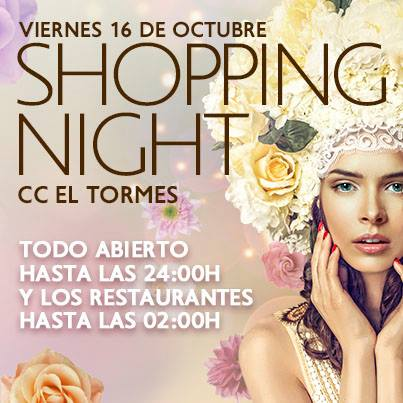 shopping night en el tormes