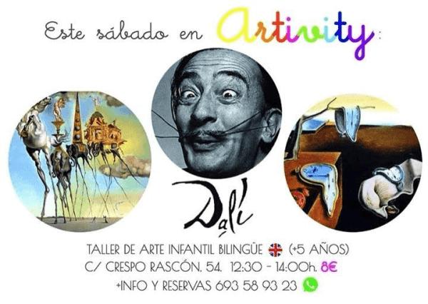 Dalí en el Artivity de Paz Samaniego