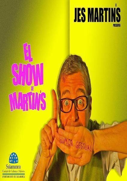 El show de Martins en el Teatro La Comedia