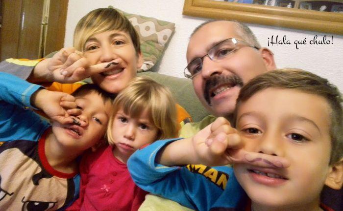 La familia del héroe Movember HQC