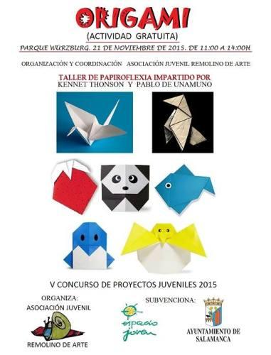 Taller de origami con Remolino de Arte en Würzburg