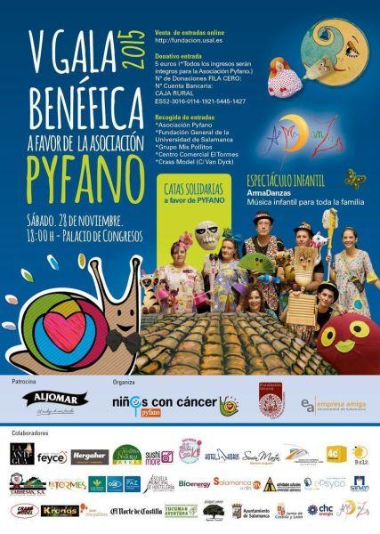V Gala Pyfano en el Palacio de Congresos de Salamanca