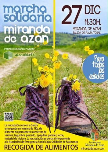 2ª Marcha Solidaria Miranda de Azán el 27 de diciembre