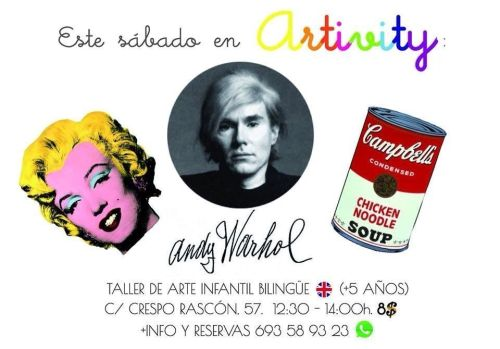 Andy Warhol en Artivity
