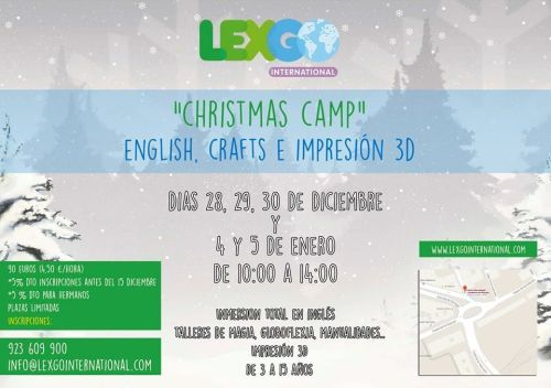 Christmas Camp en Lex Go International