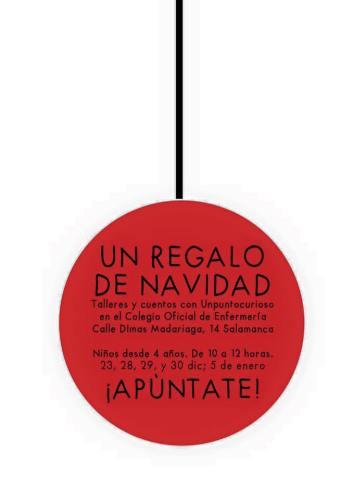 Cuentacuentos de Unpuntocurioso en el Colegio de Enfermería de Salamanca