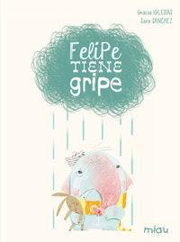 Felipe tiene gripe en la librería La Caraba