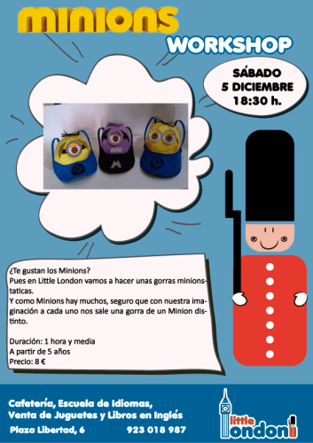 Taller de Manualidades de Minions en Little London