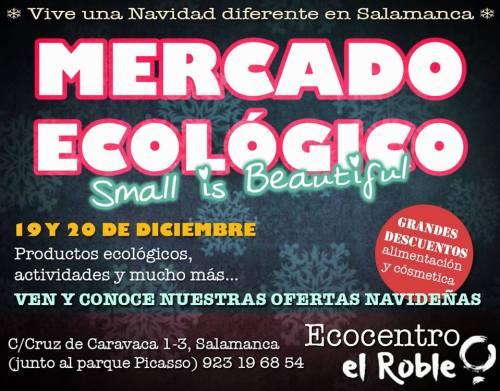 Mercado Ecológico en el Ecocentro El Roble