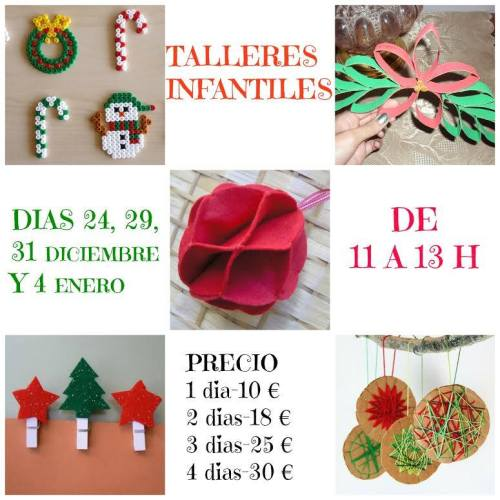 Talleres infantiles de Navidad en Lola Botona