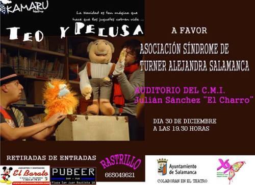 Teatro solidario a favor de Asociación Alejandra Grandes