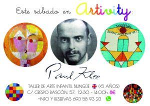 Paul Klee en el Artivity de este finde en Salamanca