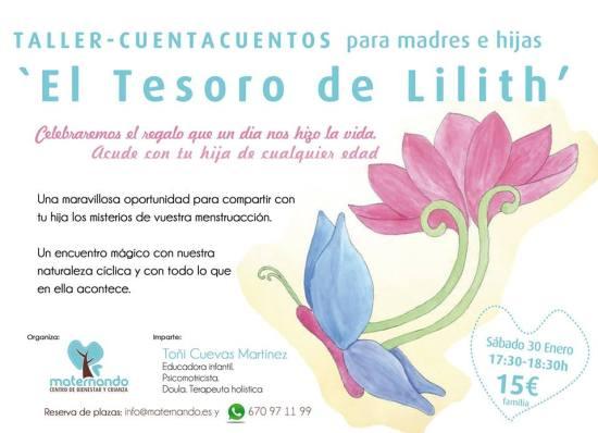 Taller-Cuentacuentos para madres e hijas este sábado en Maternando