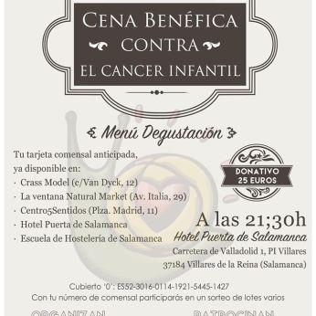 Cena benéfica contra el cáncer infantil en Salamanca