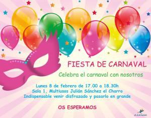 Fiesta de Carnaval en la Asociación Salmantina de Niños Hiperactivos