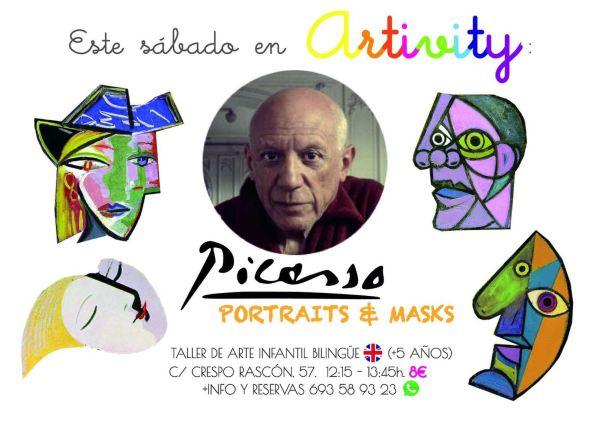 Los retratos de Picasso en el Artivity
