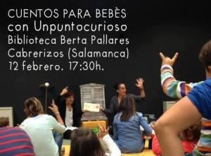 Unpuntocurioso ofrecen cuentos para bebés en Cabrerizos