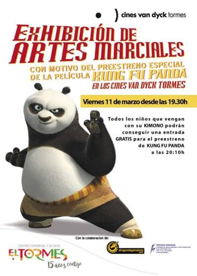 Exhibición de artes marciales en El Tormes