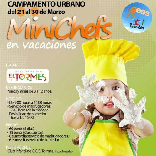 MiniChefs en El Tormes en Semana Santa