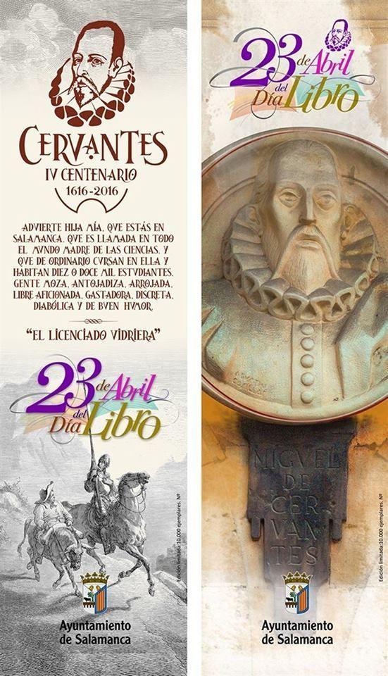 IV Centenario de la muerte de Cervantes en el Día del Libro