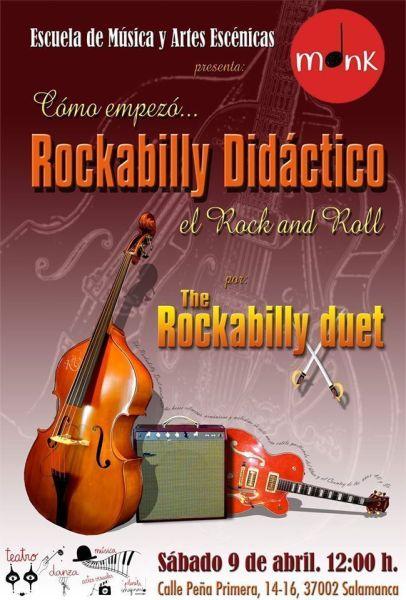 Concierto didáctico sobre los orígenes del rock en Planeta Imaginario en Salamanca