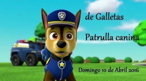 Curso infantil de galletas de la Patrulla Canina