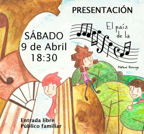 Presentación del Cuento Infanti El País de la Música
