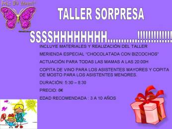 Taller sorpresa en Volteretas para celebrar el Día de la Madre