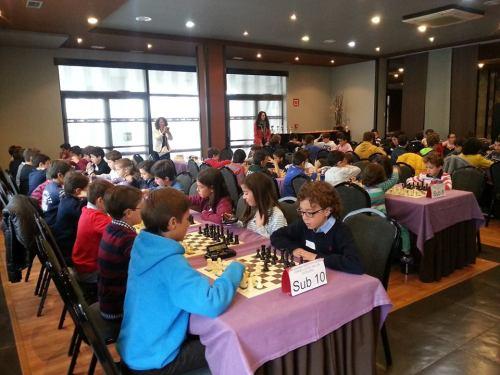 Torneo de ajedrez infantil
