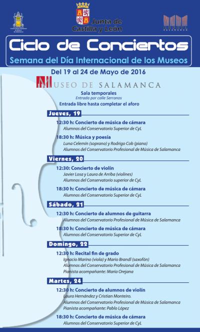 Ciclo de Conciertos en el Museo de Salamanca