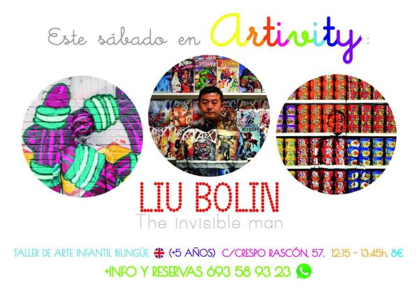Liu Bolin en el Artivity