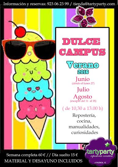 Campus de Verano en Tarty Party