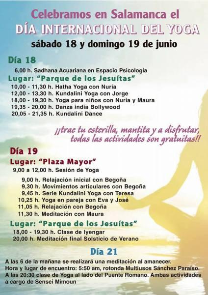 Día Internacional del Yoga