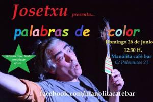 Josetxu cuenta cuentos en el Café Manolita