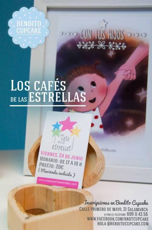 """""""Los cafés de las estrellas"""" en Bendito Cupcake"""