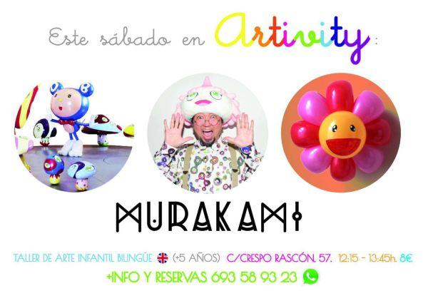 Murakami en el Artivity