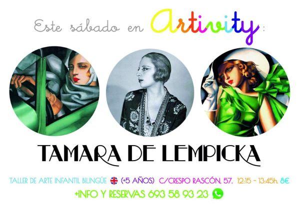Tamara de Lempicka en el Artivity