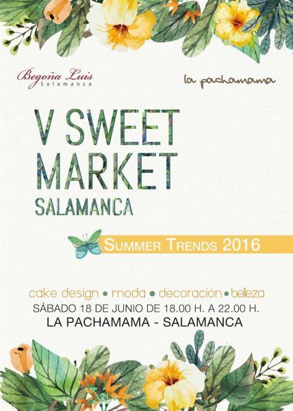 V Sweet Market Salamanca el 18 de junio