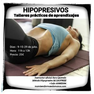 Taller Hipopresivos en Mamis en Forma Salamanca