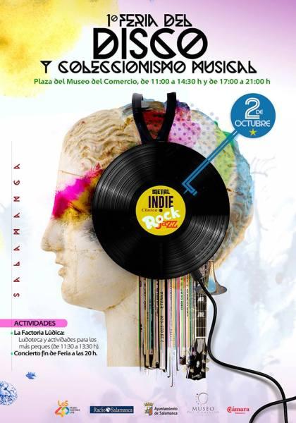 Feria del Disco y del Coleccionismo Musical en el Museo del Comercio de Salamanca