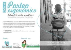 Taller de porteo ergonómico con Mami Porteando Salamanca en Maternando