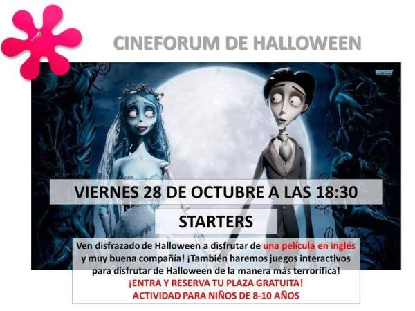 Cineforum de Halloween en Kids & Us