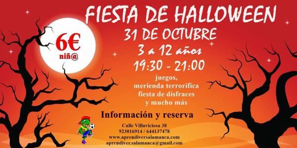 Fiesta de Halloween en Aprendiver Salamanca