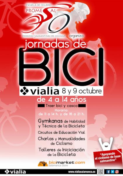 Llévate tu bici y participa en las jornadas de la bici en Vialia