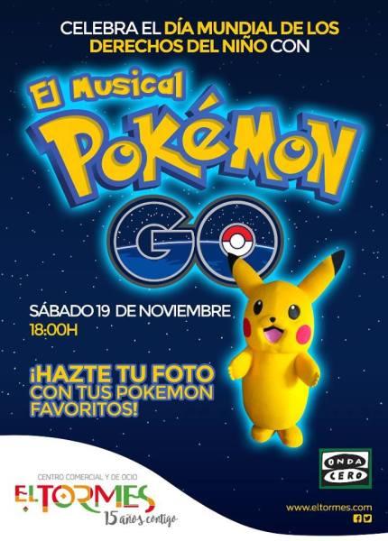 Musical de Pokémon para celebrar el Día Mundial de los Derechos del Niño en El Tormes de Salamanca