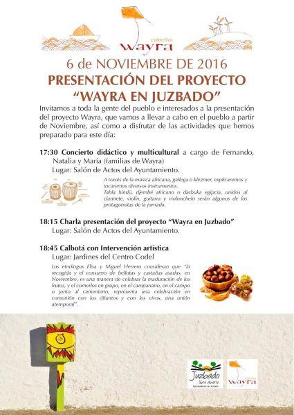 Presentación del Proyecto Wayra en Juzbado